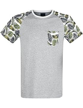 Produkt Palm Raglan Tee Camiseta Gris Claro M