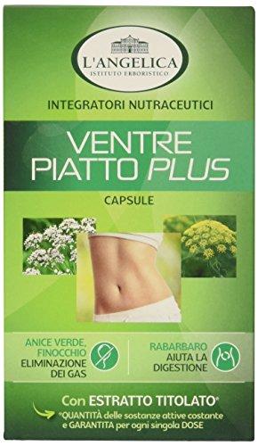 L'Angelica Ventre Piatto Plus, Pacco da 40, Totale: 22,9 gr