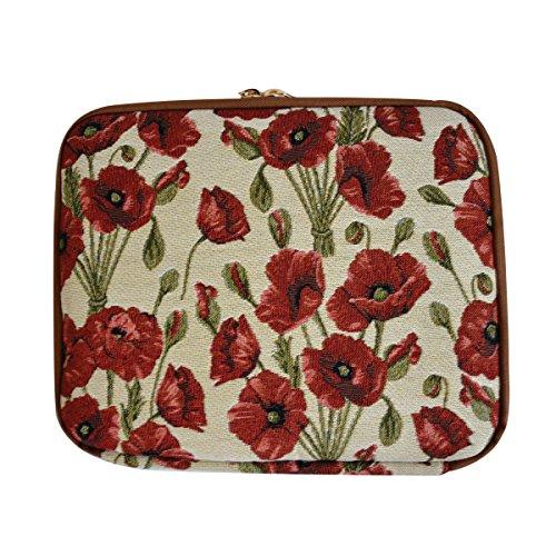 Signare Arazzo caso per iPad borsa il Tablet Papavero