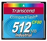 Transcend CompactFlash CF Speicherkarte 512MB 80x SLC DMA