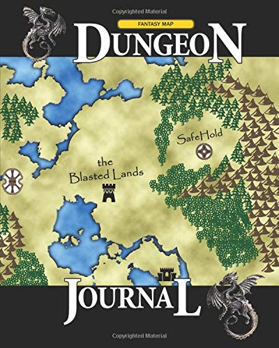 Fantasy Map Dungeon Journal