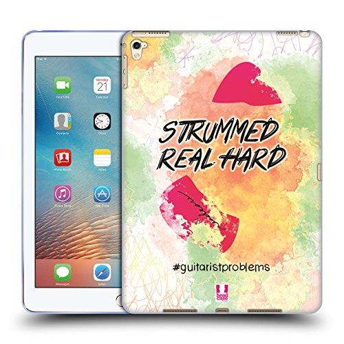 Head Case Designs Plektrum Probleme Mit Der Gitarre Soft Gel Hülle für iPad Pro 9.7 (2016)