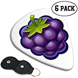 Mode ABS Plastique Guitare Picks Blueberry Cartoon Art Cool Élégant Guitare Accessoires 12 Pack Basses Guitares