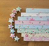funcoo 400Blatt Lovely süßem Stern Faltblätter Lucky Wish Star Origami Papier Style-2
