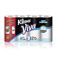 Kleenex Viva Kitchen Towel, 4 Rolls - 90 Sheets x 2 Ply