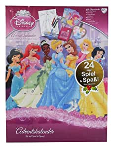 Disney Princess Adventskalender 24 mal Spiel und Spass