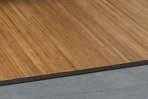 Nachhaltiger Bambusteppich Mit Bordüre ...