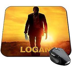 Logan Wolverine X-Men Hugh Jackman Lobezno B Alfombrilla Mousepad PC