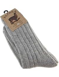 Fellhof Alpaka Socken dick 271235-GREY Unisex Socken
