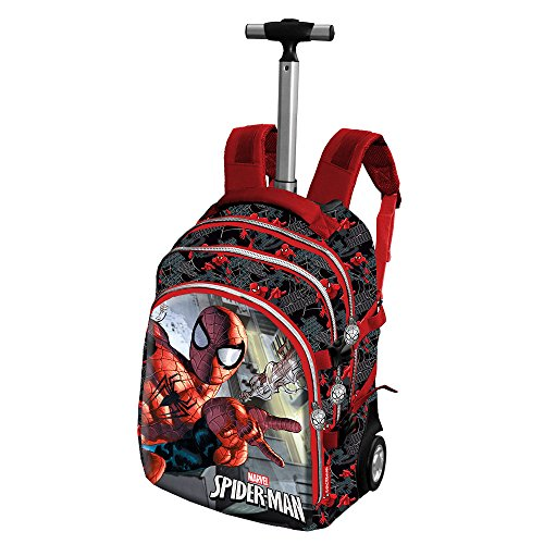 Spiderman marvel zaino trolley travel