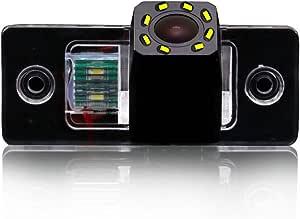 Auto Rückfahrkamera Mit 8 Led Kennzeichenleuchte Weitwinkel Mit Radar Sensor Einparkhilfe Nacht Visionen Hd Farbe Wasserdichte