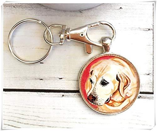 We Are Forever - Llavero para Perro, Llavero conmemorativo para Perro, Llavero conmemorativo, Regalo para Amante de los Perros, Regalo de Labrador, Pintura para Perros, Regalos de pérdida de Mascotas