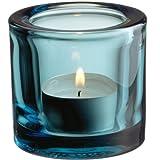 Iittala 004164 Kivi Teelichthalter, 60 mm, seeblau