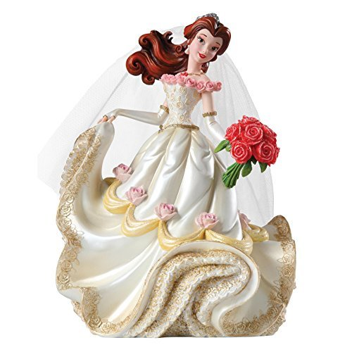 Enesco Disney Showcase Belle figura de novia, 20,3 cm) por Enesco