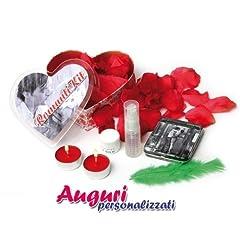 Idea Regalo - Scatola cuore romantikit un regalo originale e divertente