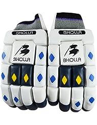 Diestros tamaño de la guantes de bateador de críquet genish, hombre, cómodo, prueba nivel protección