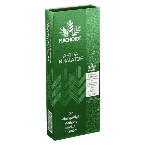 Macholdt Aktiv Inhalator+1 Eukalyptusöl Kombipack., 1 St