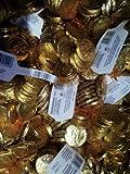 Goldtaler 4,5Kg. Karneval / Wurfmaterial von Trumpf Kaubonbon mit Schokolade