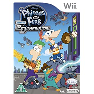Phineas and Ferb Across the 2nd Dimension (Wii)