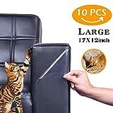 Lhoutdoor Protectores de Muebles para Gatos, Protector de sofá para Mascotas, Protectores de Garras para Perros y Gatos Guardias de Garras para Perros y Gatos,10PCS