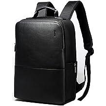 3323a32f9642 Bopai Sac à dos pour homme pour ordinateur portable 39,6 cm Sac à dos