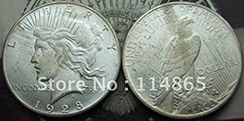 1928-P Peace Dollar UNC COIN COPY