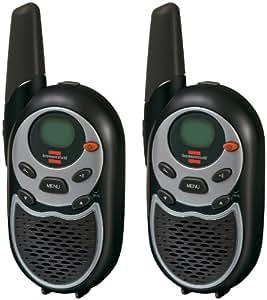 Brennenstuhl TRX 3000 Lot de 2 talkies-walkies PMR 8 canaux, portée 5 km