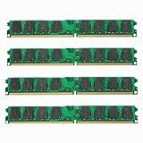 Desktop Speicher - TOOGOO (R) 8GB 4 x 2GB PC2-6400 DDR2-800MHz 240 Pin DIMM Desktop Speicher fuer AMD Motherboard