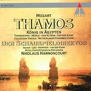 Thamos, roi d'Egypte / Le Directeur de Théâtre