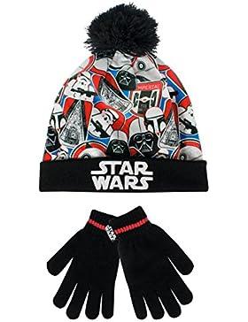 Star Wars Jungen Star Wars Mütze & Handschuh
