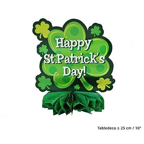 Felice Pezzi PatrickŽs Day Piedistallo tavolo con verde Decorazione -