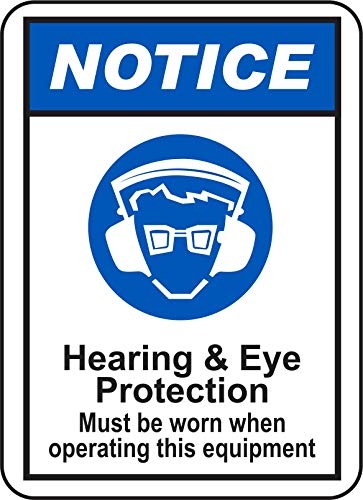 INDIGOS UG - Sticker - Safety - Warning - Ear Protection for sale  Delivered anywhere in UK