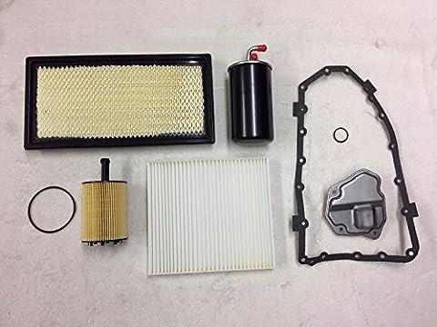 ASHIKA ATP WIX Filters Service KIT Dodge Caliber PM 2.0 CRD 2007-2010 Automatic Transmission