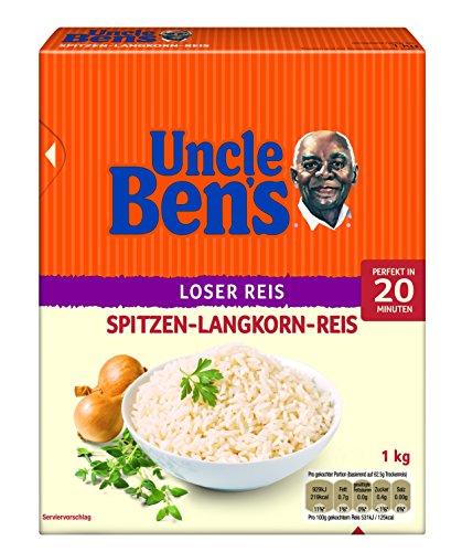 Uncle Ben's Long Grain Loose Rice, 1kg Test
