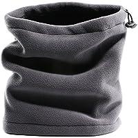 Forro polar cuello tubo calentador Unisex 3en 1polar máscara de/braga para cuello/gorro Snood/CS bufanda/gorro para Multi uso en exteriores mantener caliente