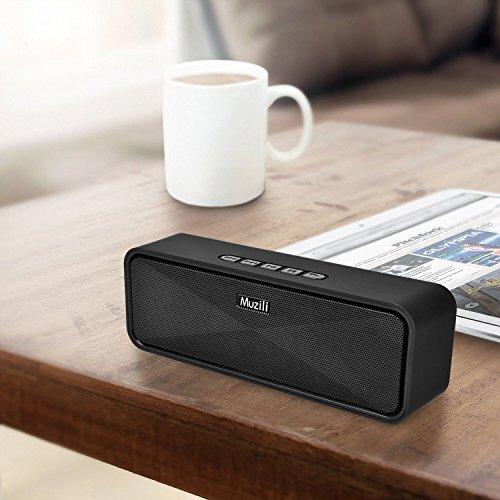 bluetooth lautsprecher muzili portable outdoor car stereo. Black Bedroom Furniture Sets. Home Design Ideas