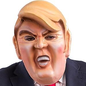 Carnival Toys 514Máscara político Donald Trump, multicolor, talla única