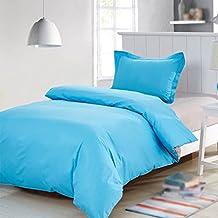 Juego de cama Algodón simple 100% Multi-color Opcional cama individual Edredón 1.35m Cama ( Color : B )