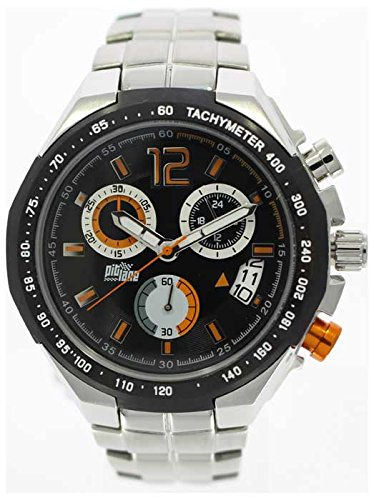 Pit Lane Reloj con movimiento Miyota Man PL-1002-4 45 mm