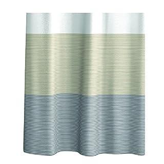 aquasanit a101400imp000Mystique Shower Curtain with Rings, 180x 200cm