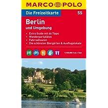 MARCO POLO Freizeitkarte Berlin und Umgebung 1:100.000