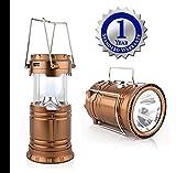 #8: You Gadget LED Solar Emergency Light Bulb (Lantern) - Travel Camping Lantern - Assorted Colours