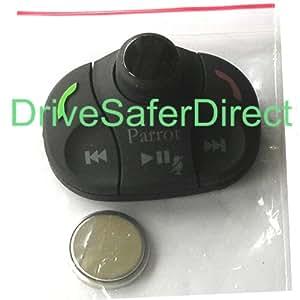 Parrot–Accessoire–Télécommande Unité Bouton pour boîtier de commande pour MKi9000, MKi9100, MKi9200–Télécommande de remplacement authentique avec batterie.