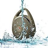 WhiteLabel SoundDew Bluetooth Altavoz Resistente al Agua - Verde Ejercito