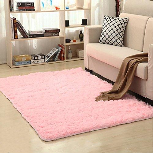linyingdian Soft Cozy Farbe Solid Shag Area Teppich Moderne Wohn-und Schlafzimmer Soft Shag Area Rug, Größe: 31