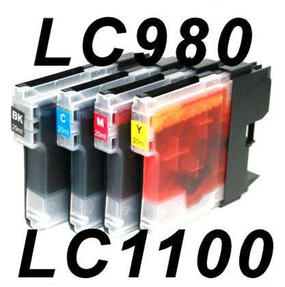 10 kompatible Patronen Brother DCP145C DCP165C DCP385C DCP535CN DCP585CW DCP6690CN DCP6690CW MFC290C...