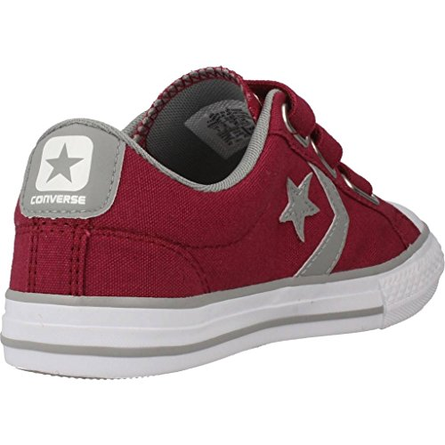 Calzature sportive bambino, colore Borgogna , marca CONVERSE, modello Calzature Sportive Bambino CONVERSE CHUCK TAYLOR STAR PLAYER 3V OX Borgogna Rosso