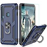 LeYi Galaxy A9 2018 Case with Magnetic Ring Holder, Full
