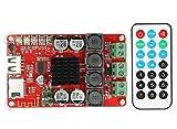 ARCELI TPA3116 2x50W Drahtlose Bluetooth 4,0 Audio-empfängerplatine/DIY Stereo verstärkermodul DC 8-26 V mit Fernbedienung