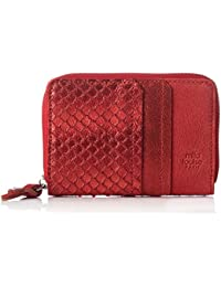 Womens Olin V Cuir Cross-Body Bag Red Rouge (Rubi) Mila Louise
